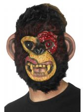 Zombie Chimp Face Mask